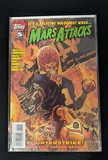 Mars Attacks 1995 2nd Series #5 Topps Comics 1996 Comic Book FREE bag/board