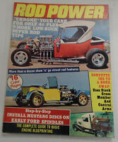 Rod Power Magazine Chrome Your Carb Low Buck Tips October 1976 040317nonr