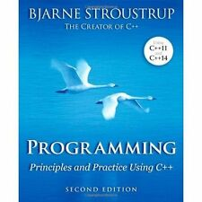 Programming: Principles and Practice Using C++ Bjarne Stroustrup 2nd Edition