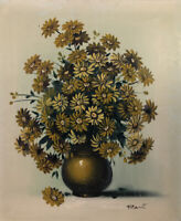 """Original oil painting by Ann Julia Rant - """"Daisies""""24"""" X 20"""" Canvas"""