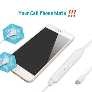 Mini TENS massager Powered by Cell Phones, Portable Massager for Pain Relief