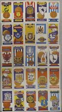 FOOTBALL CLUB AND BADGES FOOTBALL CARDS by LAMBERTS OF NORWICH Trading Cards