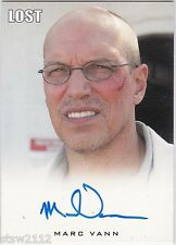 LOST ARCHIVES MARC VANN AS RAY AUTOGRAPH