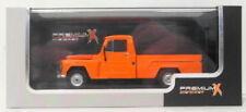Pick-ups miniatures orange 1:43