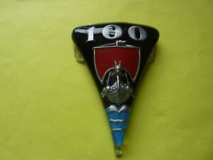 ROVER P4 100 Radiator grille badge.  NEW. Pat no 316374.