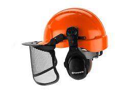 New Husqvarna Pro Forest Helmet System Protective Hard Hat Visor Ear Protection