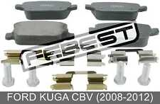 Pad Kit, Disc Brake, Rear - Kit For Ford Kuga Cbv (2008-2012)