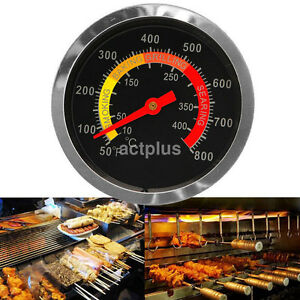 BBQ Grill Stainless Steel Thermometer Temperature Gauge for Cooking Outdoor Tool