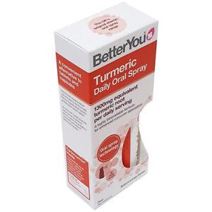 Better You Turmeric Daily Oral Spray 25ml 1300mg Turmeric Root