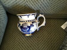 Russian hand painted Blue & white w/ Gold WEKMA Porcelain Gzhel Cup red mark OLD