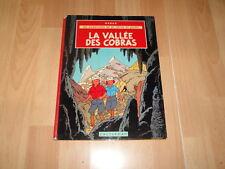 JO ZETTE ET JOCKO LA VALLEE DES COBRAS BY CASTERMAN POR HERGE EN FRANCES 1966