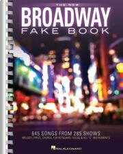 The New Broadway Fake Book Sheet Music 645 Songs from 285 Shows NEW 000138905