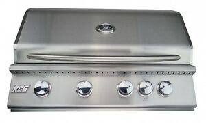 """RCS PREMIER SERIES 32"""" STAINLESS STEEL GRILL DROP IN / BUILT RJC32A"""