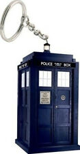 *NEW* Dr Doctor Who TARDIS Light-Up LED Keyring Torch - Key Ring Keychain