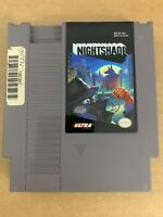 Nightshade NES Nintendo Entertainment System 100% Original Cleaned & Tested