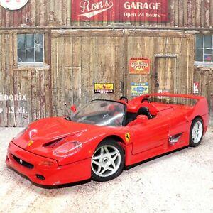 Ferrari F50 1995 1:18 Scale Detailed Die-cast Metal Model Toy Car Bburago