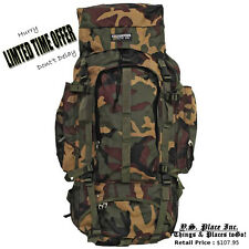 Army Military Heavy Duty Mountaineers Survival  Backpack Tactical Bugout Bags