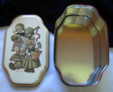 Hummel Advertising Tin 1996 / 4 Singing Children / Olive Can Compay