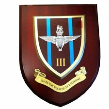 3 rd Parachute Regiment Military Shield Wall Plaque