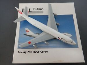 Herpa 1:500 JAL Japan Airlines Cargo Boeing 747-200 502443 EXC #837