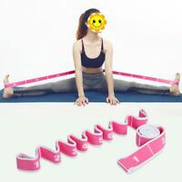Yoga Resistance Band Latin Dance Stretch Belt Exercise Elastic Pull Strap