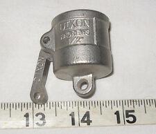 Dixon 12 Dust Cap Stainless Steel Cam Lock Dc 50 316 Ss