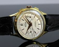 Vintage Watch/Montre AEROWATCH Plaqué Or/Plated Gold Landeron 48 CHRONOGRAPH