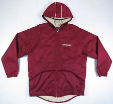 Florida State Seminoles FSU Nike Team NCAA Full Zip Hooded Quilted Jacket Mens M