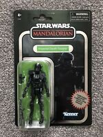 """STAR WARS Vintage Collection Carbonized IMPERIAL DEATH TROOPER 3.75"""" Figure"""