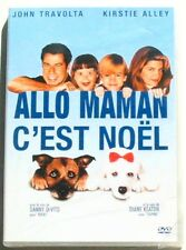 DVD ALLO MAMAN C'EST NOEL - John TRAVOLTA / Kirstie ALLEY - NEUF
