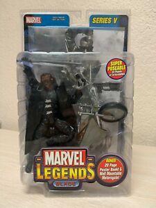 ToyBiz Marvel Legends BLADE Series V 5 2003 Comic Movie Action Figure NEW SEALED