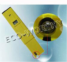 1pc Portable LCD Display PH Meter 0.00 To 14.00pH SPA Testing Study Water Pen