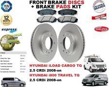 für Hyundai i800 iLoad CARGO TRAVEL 2.5 TQ Vorderbremse Scheibensatz +