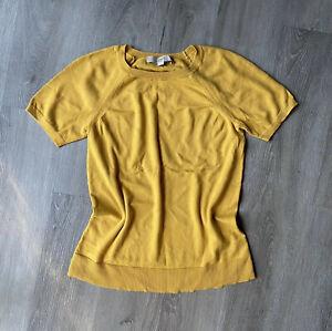 Ann Taylor LOFT Mustard Top size XS