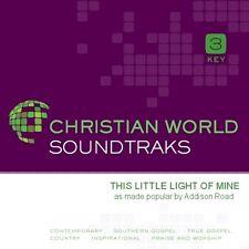 Addison Road - this little light of mine accompaniment cd new
