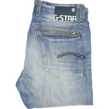 G-STAR Attacc Hombres Blue Skinny Regular de Superdry W34 L38 (46797)