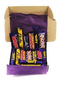 Cadbury Chocolate Bar Selection Gift Box of 25 Tasty Chocolates - Ideal Present