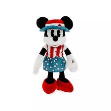 New listing Disney Minnie Mouse Americana American Flag Soft Toy Plush 30cm