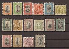PAPUA 1932-40 SG 130/45 USED Cat £450