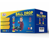 Ball Drop Educational Family Fun for Baby and Toddler.