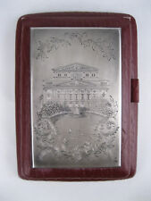 USSR Moscow Bolshoi Theater SILVER 875 plaque cover for notepad