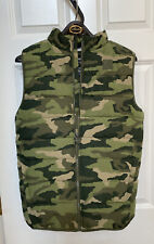 Under Armour Youth Boys XL Camo Vest Sherpa Lined Winter New No Tags