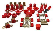 93-02 Camaro Firebird Trans Am Performance Master Suspension Bushing Kit RED