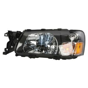 For Driver Left Headlight Assembly TYC 20-6434-00 for Subaru Forester 2003-2004