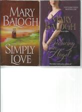 MARY BALOGH - SIMPLY LOVE  - A LOT OF 2 BOOKS
