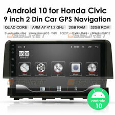 Android10 Car Radio Stereo GPS Navigation For Honda Civic 2016-18 Quad-Core 32GB