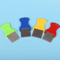 Stainless Steel Combs for Head Lice Dectection Kids Pet Flea Cootie Comb