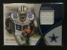2011 TOPPS PROLIFIC PLAYMAKERS DEZ BRYANT GAME USED CARD