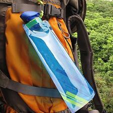 Faltbare Wasserflasche 700ml Sportflasche Fahrradflasche Trinkflasche Outdoor NL