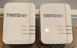 TrendNet TPL-420E2K/A WiFi Powerline 1200 AV2 Wireless TPL-420E2K Wi-Fi